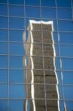 здание городской los angeles отразило Стоковые Изображения