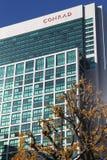 Здание гостиницы Японии Стоковое фото RF