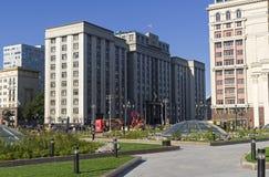 Здание Государственной Думы Российской Федерации Стоковое фото RF