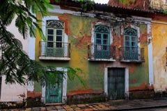 здание делает исторический sao maranhao luis Стоковое фото RF