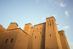 Здание деревни Ksar Ait Бен Haddou Стоковые Фото
