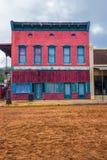 Здание Диких Западов для кино Стоковые Фото