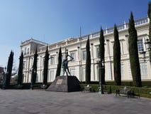 здание дома пастора автономного университета положения Мексики стоковая фотография
