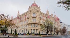Здание Думы города, 1899 Архитектор a Pomerantsev Стоковое Изображение