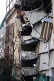 здание загубило Стоковая Фотография