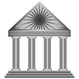 Здание иконы Стоковое Изображение RF