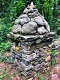 Здание камня замка Gillette стоковая фотография