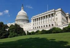 Здание капитолия Соединенных Штатов, на конгрессе США в DC Вашингтона стоковое изображение