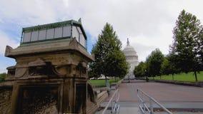 Здание капитолия Соединенных Штатов акции видеоматериалы