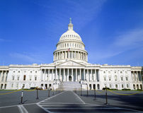 Здание капитолия США, стоковая фотография