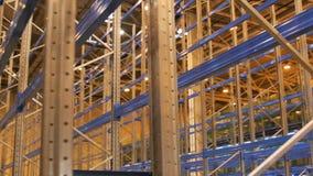 Здание крупного плана коммерчески для хранения товаров используемого импортерами акции видеоматериалы
