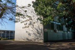Здание Министерства Здравоохранения - Brasilia, Distrito федеральное, Бразилия стоковое изображение rf