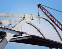 здание моста стоковое изображение rf