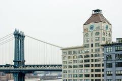 здание моста New York Стоковые Фотографии RF