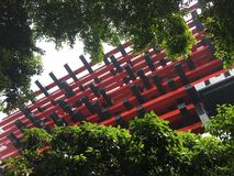 Здание музея изобразительных искусств Китая Чунцина стоковые фото