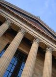 Здание музея изобразительных искусств Филадельфии Стоковое Фото