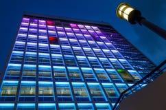 здание муниципалитет высокое Hong Kong здания блока Стоковые Изображения RF