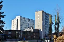 Здание муниципалитет в Boden Стоковые Фото