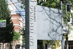 Здание муниципалитет города San Fernando в Буэносе-Айрес стоковая фотография rf