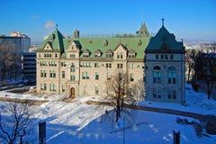 Здание муниципалитет Квебека (город), Квебек, Канада Стоковая Фотография RF