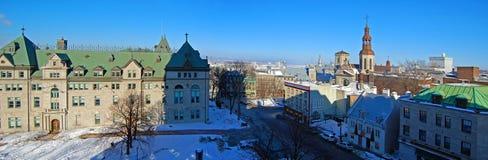 Здание муниципалитет Квебека (город), Квебек, Канада Стоковые Фото