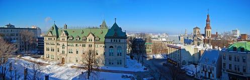 Здание муниципалитет Квебека (город), Квебек, Канада Стоковое Изображение