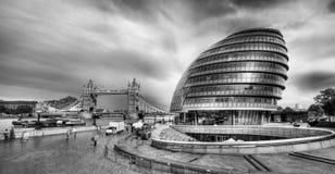 Здание муниципалитет Лондон Стоковые Изображения RF