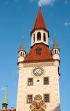 Здание муниципалитет Мюнхен Стоковые Изображения RF