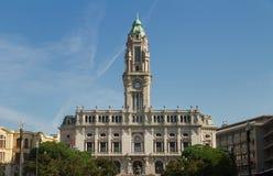 Здание муниципалитет на квадрате Liberdade Стоковые Изображения
