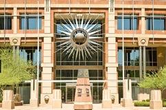здание муниципалитет новый phoenix Аризоны стоковые изображения rf