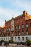 Здание муниципалитет Оденсе стоковая фотография rf