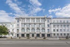 Здание муниципалитет Омск Стоковые Фото