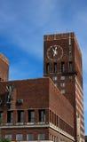здание муниципалитет Осло Стоковое Изображение RF