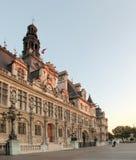 Здание муниципалитет Париж - Франции Стоковое Фото
