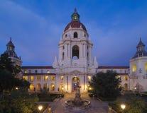 Здание муниципалитет Пасадина в Los Angeles County Стоковые Фото