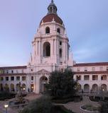 Здание муниципалитет Пасадина в Los Angeles County Стоковая Фотография RF