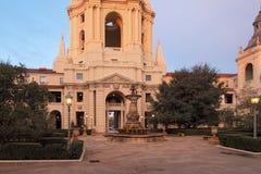 Здание муниципалитет Пасадина в Los Angeles County Стоковая Фотография