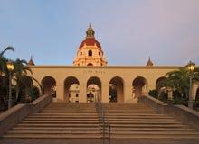 Здание муниципалитет Пасадина в Los Angeles County Стоковое фото RF