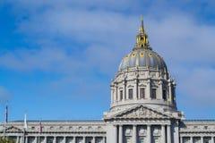 Здание муниципалитет Сан-Франциско стоковые изображения