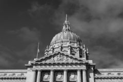 Здание муниципалитет Сан-Франциско стоковые фото