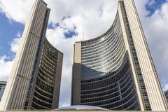 Здание муниципалитет Торонто Стоковые Изображения RF