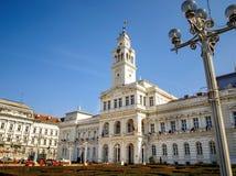 Здание муниципалитет Arad, Румынии Стоковое Фото