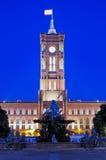 здание муниципалитет berlin Стоковые Фотографии RF