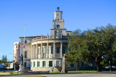 Здание муниципалитет Coral Gables, Майами, США Стоковые Изображения RF