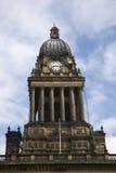 здание муниципалитет leeds yorkshire Стоковые Изображения RF