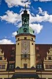 здание муниципалитет leipzig старый Стоковые Фотографии RF