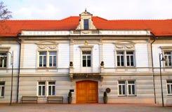Здание муниципалитет, Lendava, Словения Стоковые Фото