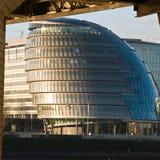 здание муниципалитет london s Стоковая Фотография