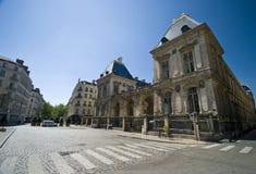 здание муниципалитет lyon Стоковое фото RF