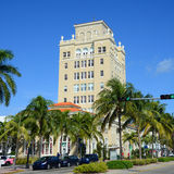 Здание муниципалитет Miami Beach старый Стоковое Изображение